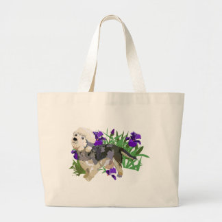 Dandy Dinmont among the Iris Bag