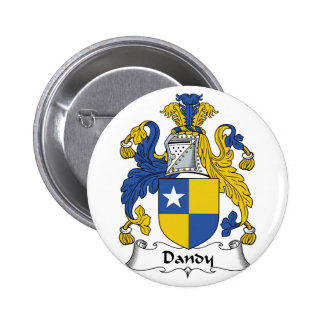 Dandy Family Crest Pinback Button