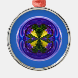 Dandy Four Abstract Globe Ornament
