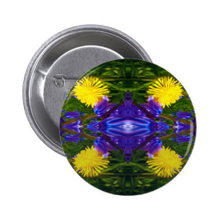 Dandy Four Pattern Pinback Buttons