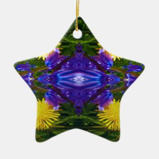 Dandy Four Pattern Christmas Ornament