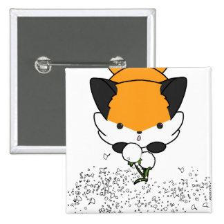 Dandy Fox Button