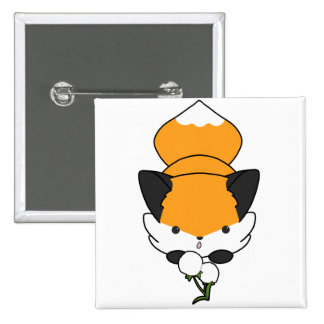 Dandy Fox (plain) Pin