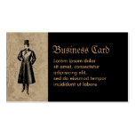 Dandy Gent Double-Sided Standard Business Cards (Pack Of 100)