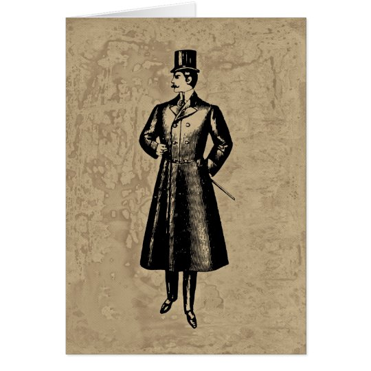 Dandy Gent Card
