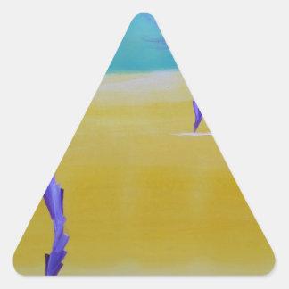Dandy Lion Desert Triangle Sticker