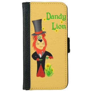 Dandy Lion iPhone 6 Wallet Case
