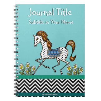 Dandy The Polka Dot Horse (Personalized) Journals