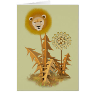DandyLion plant Card