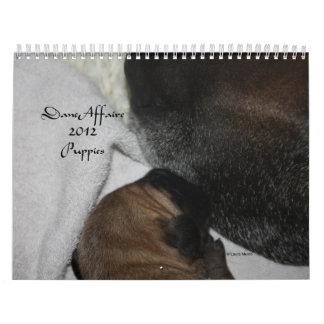 Dane Affaire - 2012 Puppies Calendar