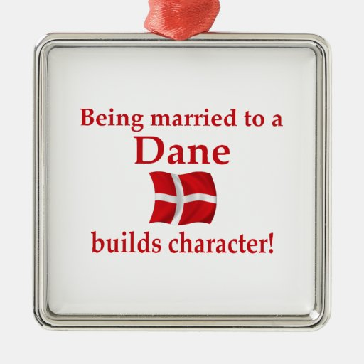 Dane Builds Character Christmas Ornament
