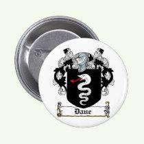 Dane Family Crest Button