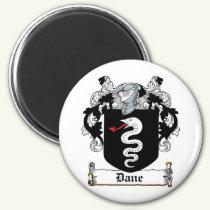 Dane Family Crest Magnet