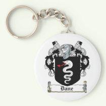 Dane Family Crest Keychain