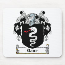 Dane Family Crest Mousepad