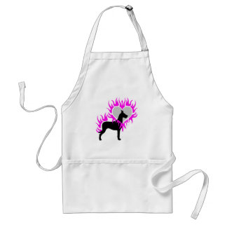 Dane on Fire Adult Apron