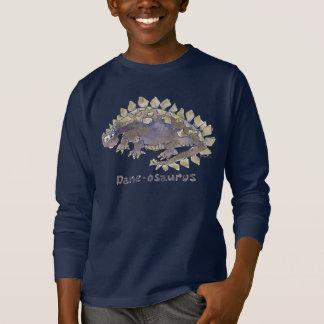 Dane-osaurus Cartoon Dinosaur T-Shirt