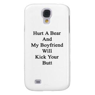 Dañe un oso y mi novio golpeará su extremo con el