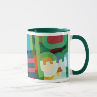 Danebod Colorful Overlay Mug