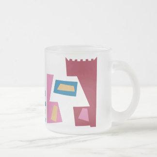 Danebod Hep Cat Frosted Glass Coffee Mug