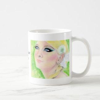 Danedelion Fairy  Blonde Faery Coffee Mug