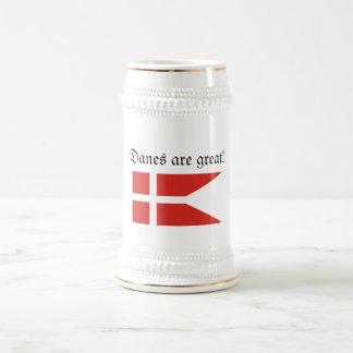 Danes are great Stein Coffee Mug