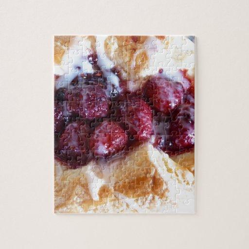 ¡Danés de la frambuesa, yum! Puzzle Con Fotos