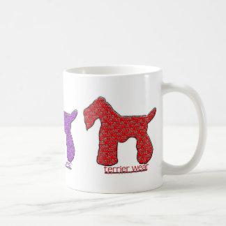 Danes-R-Us Terrier Wear Classic White Coffee Mug