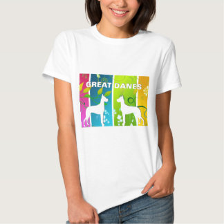 Daneses del arco iris remera