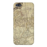 Danet's 1700 AD Vintage World Map iPhone 4 Case