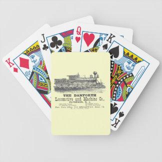Danforth Locomotive and Machine Company 1852 Card Decks
