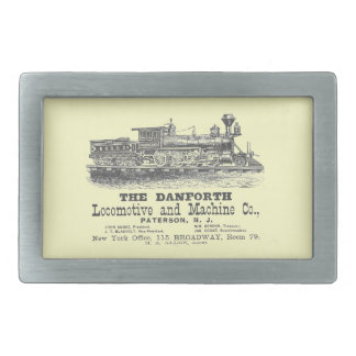 Danforth Locomotive and Machine Company 1852 Rectangular Belt Buckle