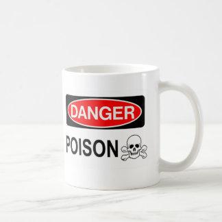 DANGER29 CLASSIC WHITE COFFEE MUG