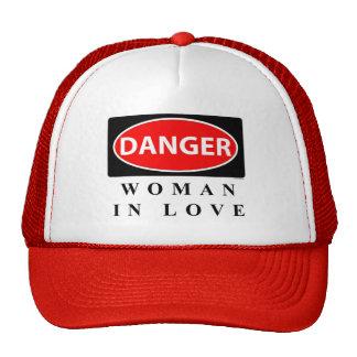 danger3 trucker hat