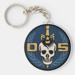 Danger 5 Emblem Keychain