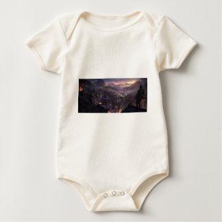 Danger Above Baby Bodysuit