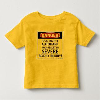 Danger Autoharp Toddler T-shirt