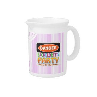 danger bachelorette party bridal shower crazy wild pitchers