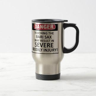 Danger Bari Sax 15 Oz Stainless Steel Travel Mug