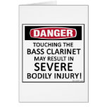 Danger Bass Clarinet Cards