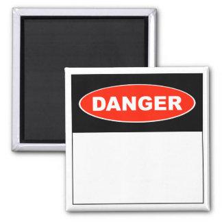 Danger (Blank) - Magnet