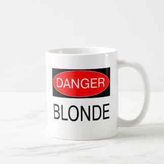 Danger - Blonde Funny Joke T-Shirt Mug Hat Apron