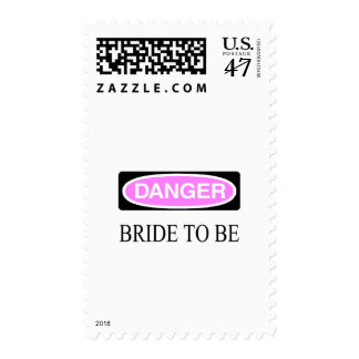 Danger Bride To Be Postage