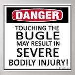 Danger Bugle Poster