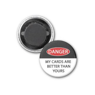 Danger Card Guard/ Fridge Magnet