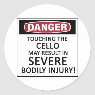 danger_cello_classic_round_sticker-rbe76