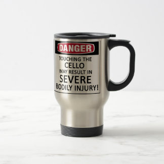 Danger Cello Coffee Mug