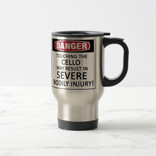 Danger Cello Travel Mug
