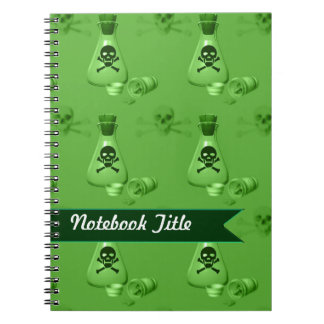 Danger Chemical Poison Journal Notebook