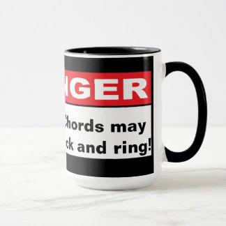 Danger: Chords May Lock and Ring! Mug